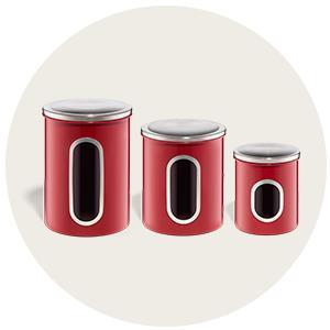 Акция Орифлейм «Стильное решение» - подарок набор контейнеров для сыпучих продуктов